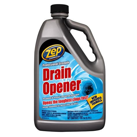 best sink drain cleaner what is the best drain cleaner for kitchen sink shop zep