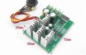 Digital Display 1800w High Power 30a Dc Motor Controller