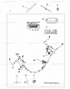 Polaris Atv 2015 Oem Parts Diagram For Electrical  Wire