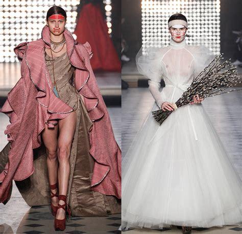 robe pret a porter vivienne westwood 2014 2015 fall winter womens denim fashion week runway catwalks