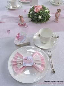Taufe Deko Mädchen : taufdeko kinderwagen rosa silber und rosen shop ~ A.2002-acura-tl-radio.info Haus und Dekorationen