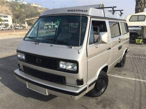 volkswagen vanagon 1989 vw westfalia vanagon cer van buy classic volks