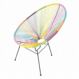 Fauteuil Fil Plastique : chaise jardin fil plastique ensemble de 2 fauteuils ~ Edinachiropracticcenter.com Idées de Décoration