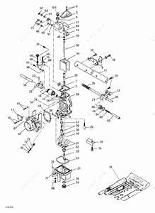 Ski Doo 1998 Mach Z -  Carburetor S