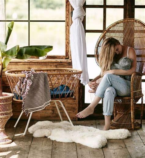 rattanowe lozeczka  akcesoria vintage elle decoration trendy wiosna lato  moda uroda
