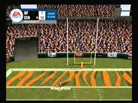 madden nfl  playstation  ers  bengals youtube