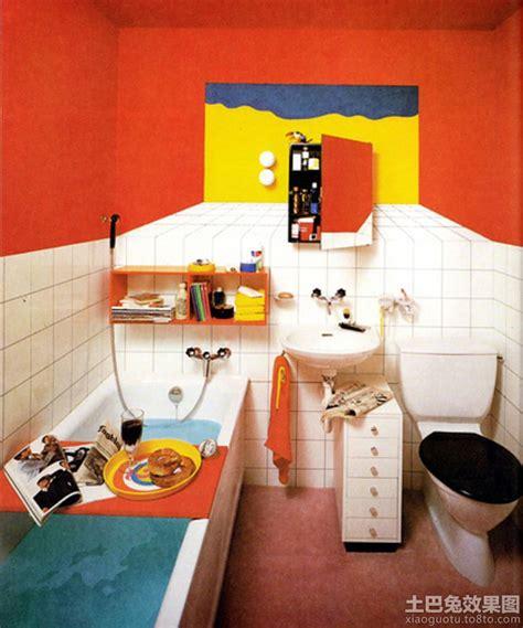 bathroom interior design 波普艺术风格卫生间效果图 土巴兔装修效果图