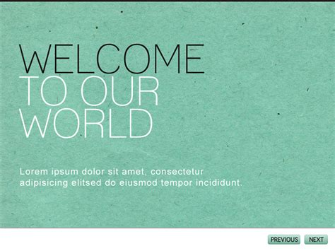modernist powerpoint template texture paper type background simple color scheme grove