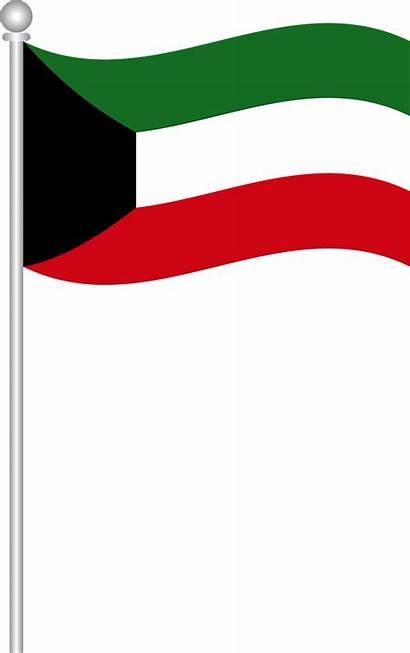 Kuwait Flag Bendera Picpng Gambar Pixabay