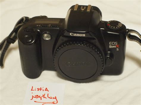 free canon eos rebel xs 35mm other cameras items listia auctions for free stuff