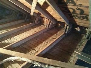 Oprava rákosového stropu