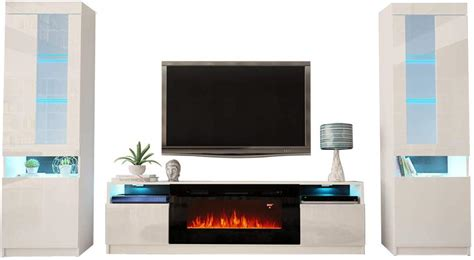 york  electric fireplace modern wall unit entertainment