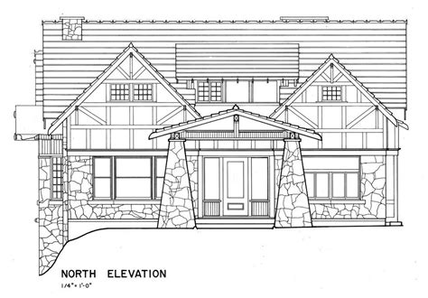 bungalow home plans  fine craftsman style house  wood  stone blueprints ebay