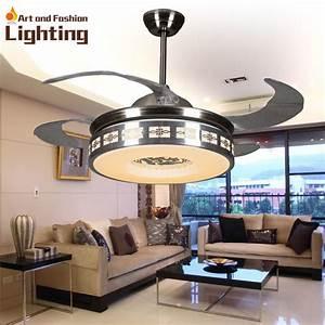 Luxury ceiling fan lights modern fans inches
