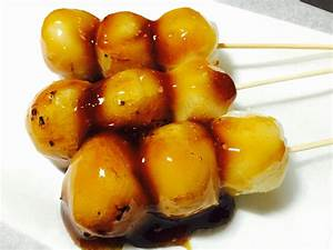 Japanese Dessert Recipe, Dumplings with Salty-sweet Sauce ...