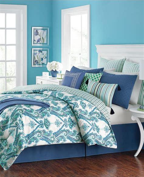 10 pc comforter set martha stewart adana 10 pc comforter sets everything turquoise