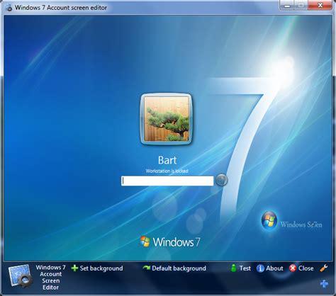cambiar pantalla de inicio de sesion en windows  en