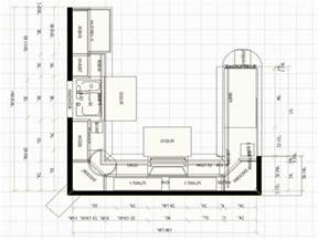 island kitchen floor plans u shaped kitchen floor plans