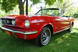 65 Mustang Convertible NO RESERVE AUCTION watch video walkaround