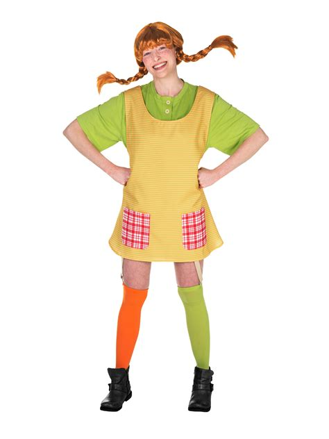 damen kostüm pippi langstrumpf original pippi langstrumpf kost 252 m