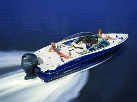 Monterey Boats Msrp by 2014 Monterey Sport Boat 217 Blackfin O B For Sale