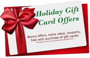 Gift Card Holiday Offers - Everything Unscripted