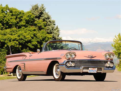 Chevrolet Bel Air Impala Convertible '1958 - Wallpaper #21504