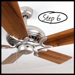 how to balance a wobbly or noisy ceiling fan two easy