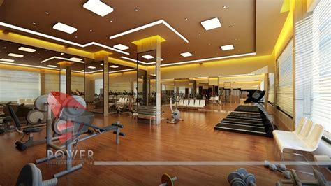Gym Interior :  House 3d Interior Exterior Design