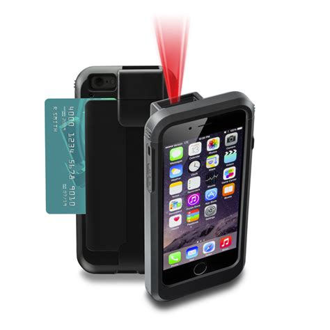 scan for iphone linea pro 6 barcode scanner magnetic card reader for