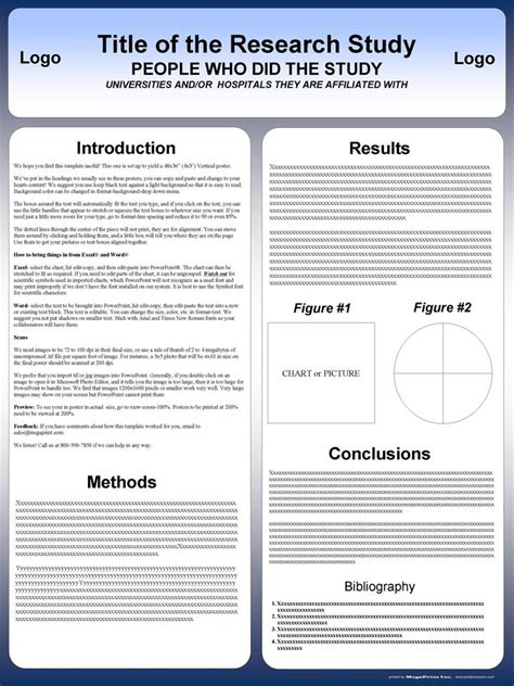 powerpoint scientific research poster templates