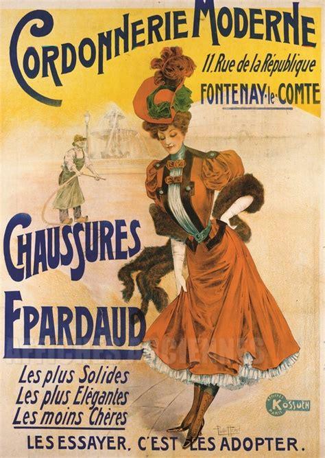 cordonnerie moderne vintage poster bank theme mode
