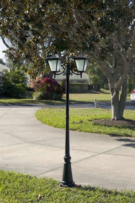 pillar column mount solar lights by free light galaxy