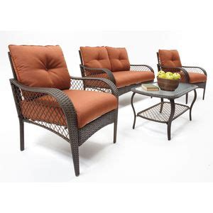 linden 4 patio set home is where the