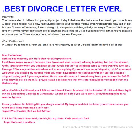 sex letters to my husband best divorce letter dear your called to 24826 | 56fef5d45e0e5cfb637ce1ccd4b3e465