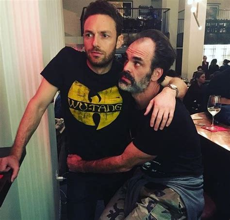 ross marquand instagram the walking dead ross marquand and steven ogg photo via