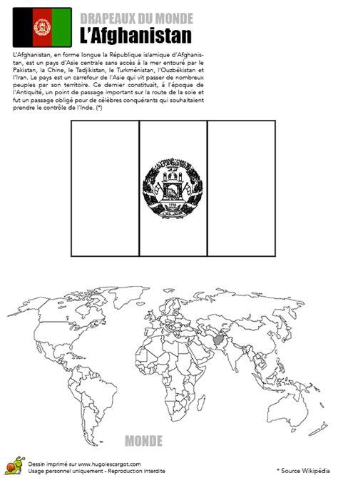 journal cuisine coloriage drapeau afghanistan hugolescargot com