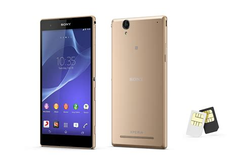 xperia t2 ultra dual new android phone sony xperia