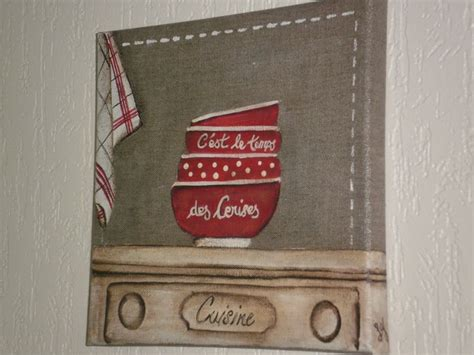 peinture sur toile pour cuisine toile de une affaire de cuisine lilie griottes