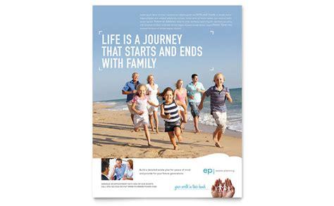 estate planning flyer template design