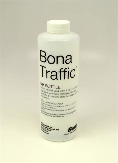 bona traffic naturale floor finish mix bottle each chicago hardwood flooring