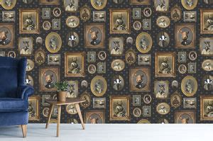 unusual  quirky wallpaper notonthehighstreetcom