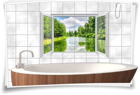 Fliesenaufkleber Natur by Fliesenaufkleber Fliesenbild Fenster Fluss Natur
