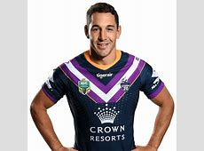 Official NRL profile of Billy Slater for Melbourne Storm