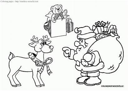 Santa Claus Natale Coloring Babbo Disegni Colorare