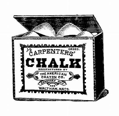 Chalk Box Clipart Clip Illustration Digital Stamp