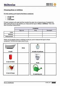 Milliliters And Liters Worksheet Worksheets For All