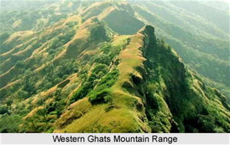 eastern and western ghats western ghats mountain range in india
