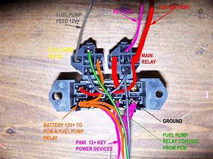 Ls1 Stand Alone Wire Harness Fuse Block Question