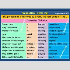 Preposition + Verb (ing)  Vocabulary Home
